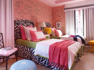 teen-rooms-lovely-peach-wall-decal-cute-teen-girls-bedroom-inspiration-with-twin-zebra-pattern-bed-frame-and-comfy-light-blue-couch-15-pictures-of-cute-teen-girls-bedroom-inspirations